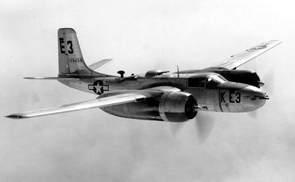 Photograph of A-26 Invader