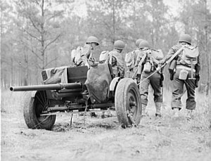 Photograph of 37mm antitank gun