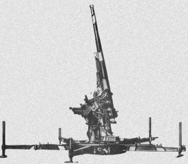 Photograph of Type 88 antiaircraft gun