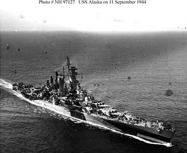Photograph of Alaska-class large cruiser