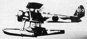 "Photograph of E8N ""Dave"" seaplane"