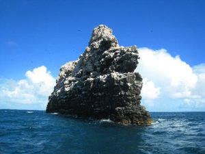Photograph of La Perouse Pinnacle at French Frigate Shoals