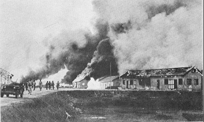 Hengyang being abandoned by the Allies during Ichi-go