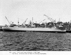 Photograph of Hyades-class provisions storeship