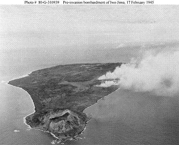 Photograph of Iwo Jima