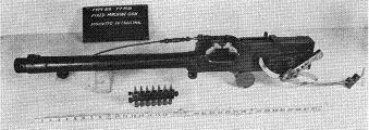 Photograph of Type 89 Model 2 machine gun