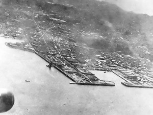 Photograph of Yokosuka Navy Yard in 1942